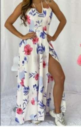 Hermoso Vestido de Flores
