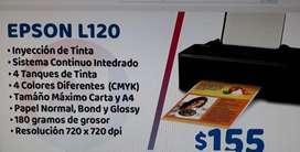 Impresora con tinta recargable EPSON 120