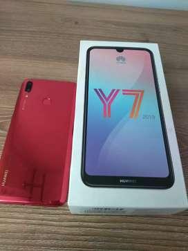 Huawei Y7 2019 (precio negociable)