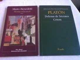 Lote de 3 libros $900