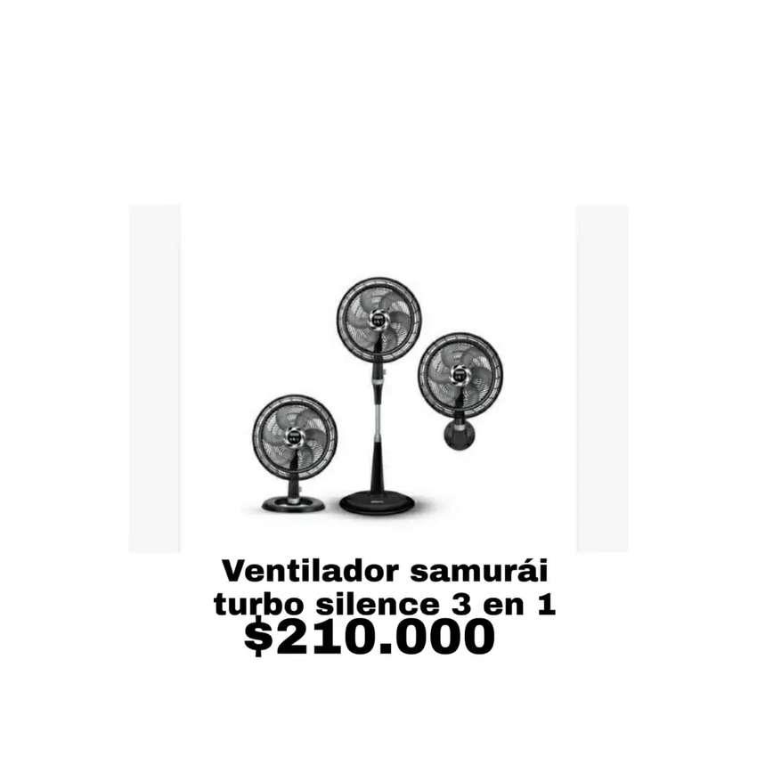 Ventilador x3 samurai