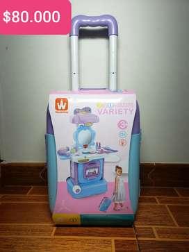 Tocadores para niña tipo maleta