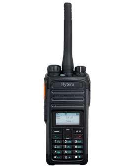 Radio Portatil Hytera PD486 digital con pantalla OLED y Bluetooth