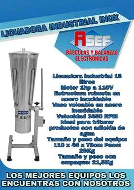 Licuadora industrial 15 inoxidable