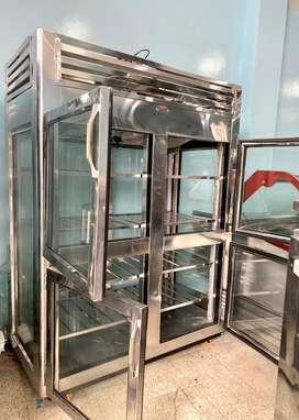 Nevera vertical 4 puertas refrigeracion panoramica