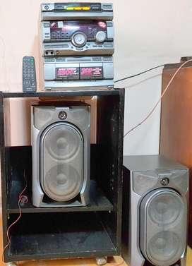 Equipo De Música Sony Gr8000 2800 Watts pmpo HiPower Japan