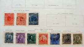 Sellos postales de Brasil 1900 – 1915