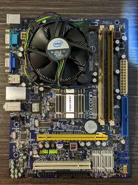 Combo Board / Placa base ( Foxconn - G31MV-K ) Socke: 775