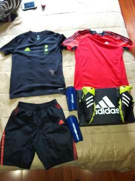 Guallos  Canilleras  Uniforme Adidas