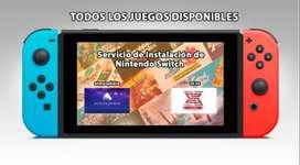 Servicio para Nintendo Switch