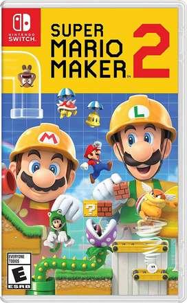 Super Mario Maker II Para Nintendo Switch Nuevo