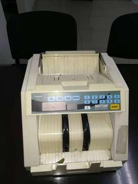 Maquina contadora de efectivo