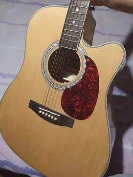 Guitarra electroacústica impecable