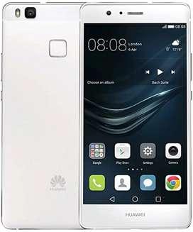 Celular Huawei P9 lite, color blanco, en muy estado (casi nuevo)