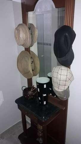Espejo + sombrero