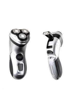 Afeitadora 3 Cabezas Recargable Display Digital