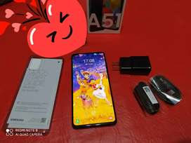 Vendo permuto Samsung A51 libre impecable  4/128