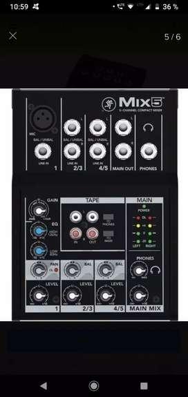 Mixer 5 nueva