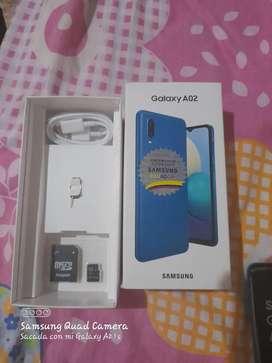 Venta de celular Samsung A02 3gb