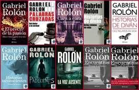 COLECCIÓN 10 LIBROS GABRIEL ROLON