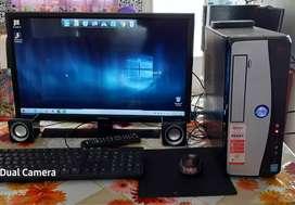Vendo Pc completa Slim Windows 10