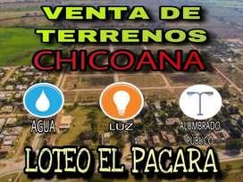 Venta de Terreno en Chicoana