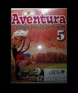 Libro aventura comunicativa 5