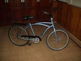 bicicleta playera, freno contra pedal