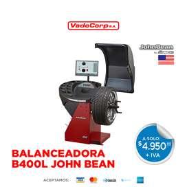 Balanceadora B400L JohnBean Snapon - Maquinaria Automotriz