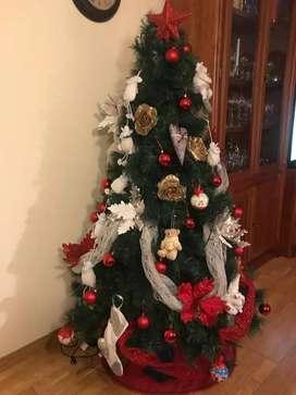 árbol de navidad 1.80m