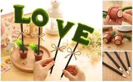 Esferos creativos palabra Amor - LOVE