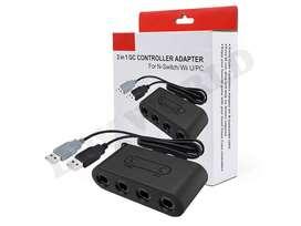 Adaptador Control Gamecube Switch Wii U Pc Nintendo