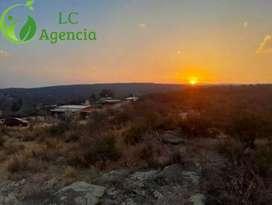 Se vende lotes en Bialet Masse,Mirador del Lago -Agencia LC