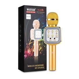 Micrófono Karaoke Inalámbrico Bluetooth Ws-1818 Recargable