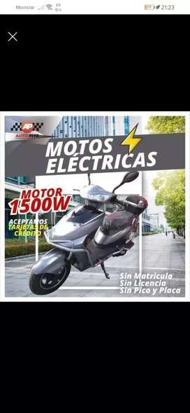 Motos eléctricas cero contaminación