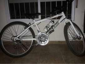 Biciceta mountain bike rodado 24