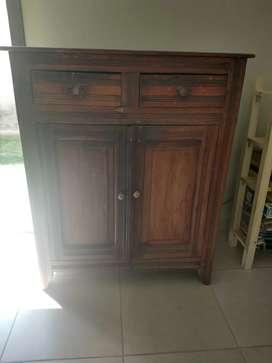 Vendo mueble antiguo tipo alacena