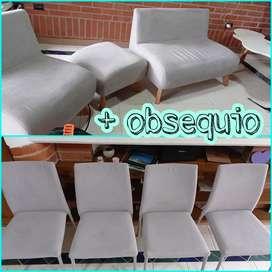 Lavado de muebles + obsequio sillas de comedor