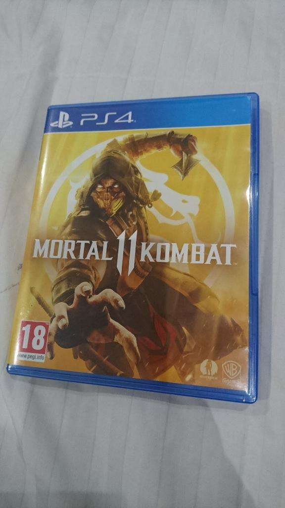 Venta No Cambios Mortal Combat 11 de Ps4 0
