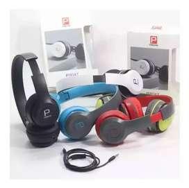 Auriculares Vincha Plegables Para Celular P8047 Headphone