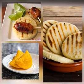 Masa lista de maíz blanca para arepas y amarilla especial para empanadas a domicilio bogota