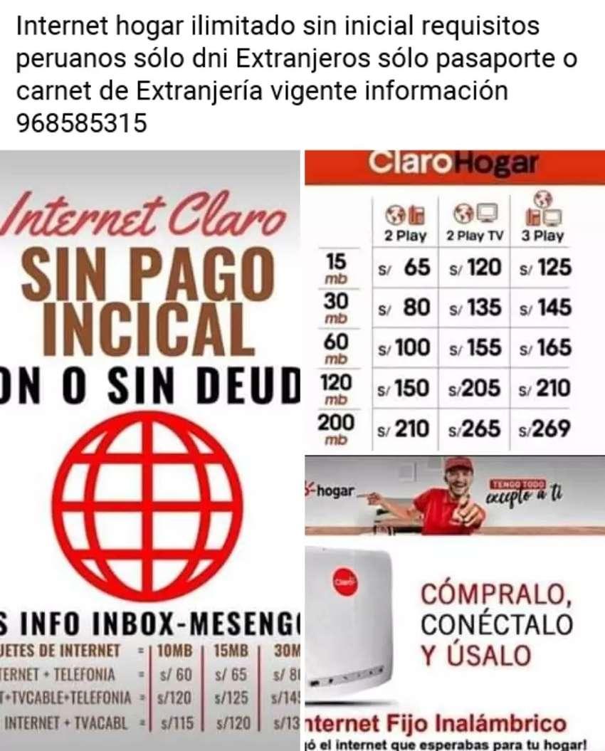 Internet hogar ilimitado 0