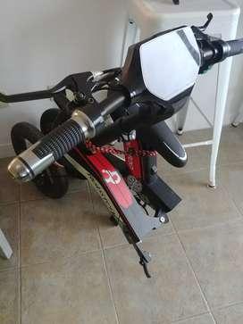 Scooter Bicicleta eléctrica Plegable