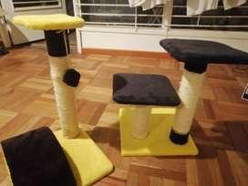 Hermoso gym para gatos
