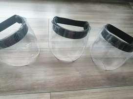 Caretas mascaras bioseguridad de proteccion  facial en policarbonato