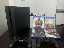 Vendo PlayStation 4 (PS4)