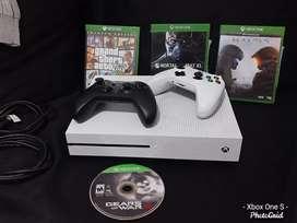 Xbox One S 1Tera Con 2 Controles Y Videos Juegos