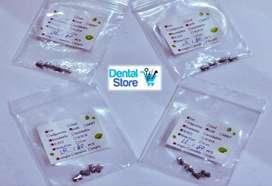 Tubos Bucales Ortodoncia. 0.022 Tipo Roth 2.50