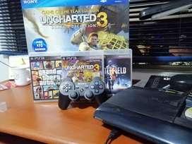 PlayStation 3 super slim +12 juegos