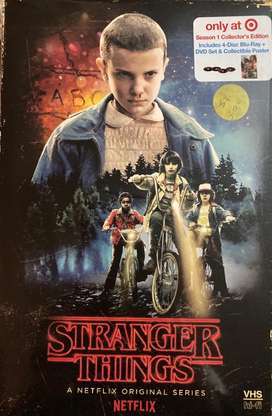 Stanger Things 4 blu ray + dvds